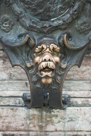 Lion Face as a Good Luck Symbol in Munich Germany photo