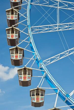 Ferris Wheel at the Oktoberfest in Munich, Germany