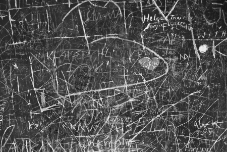 Wall Graffiti as Symbol of Urban Communication Stock Photo