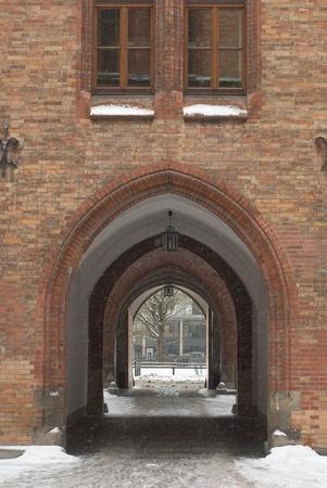 vaulted: Munich City Hall with Vaulted Passage