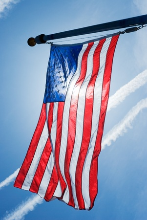 American Flag as Symbol of the American Nation photo