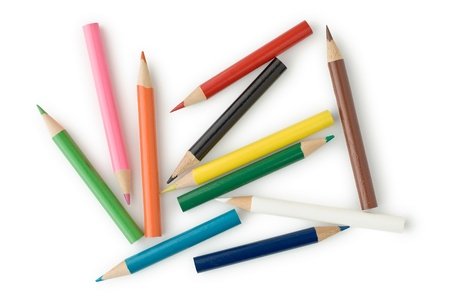 Colored Pencils for School or Professional Use Stock Photo - 11814754