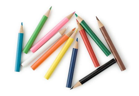 Colored Pencils for School or Professional Use Stock Photo - 11961170