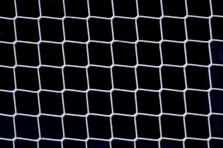 Fishing Net on Black as Design Element