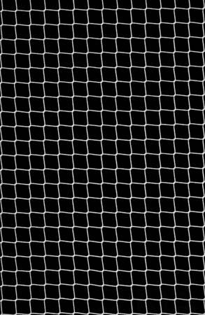 fishing nets: Soccer Net on Black as Design Element