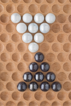 with sets of elements: Two sets of Marbles as Design Elements