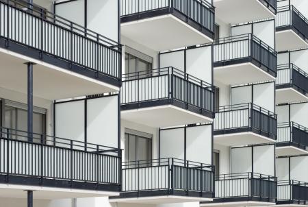 Wohnungsbau Site in Suburbia Standard-Bild