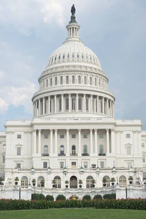 West Front of United States Capitol in Washington Stock Photo - 15461667