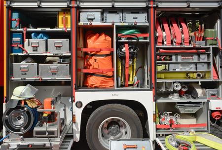 消防トラック ・機器