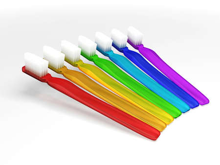 Toothbrush Rainbow