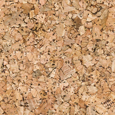 Flat cut cork, seamless background texture