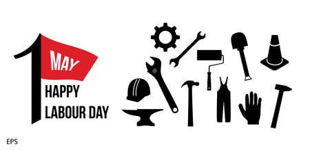labour: International Labour Day Illustration