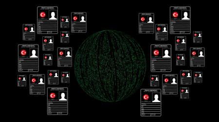 los piratas informáticos de información personal