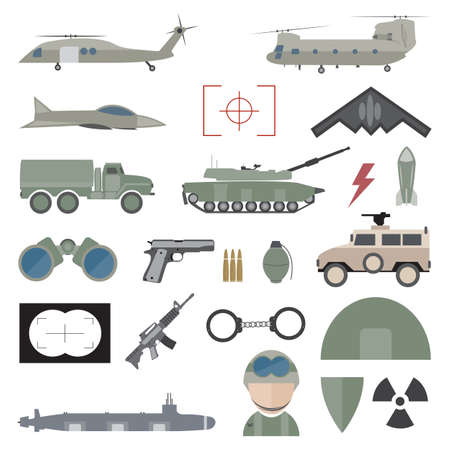 munition: Army concept with military munition