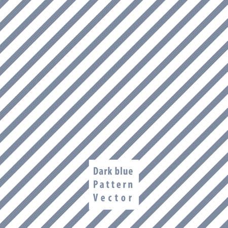 Dark blue lines seamless pattern vector illustration.