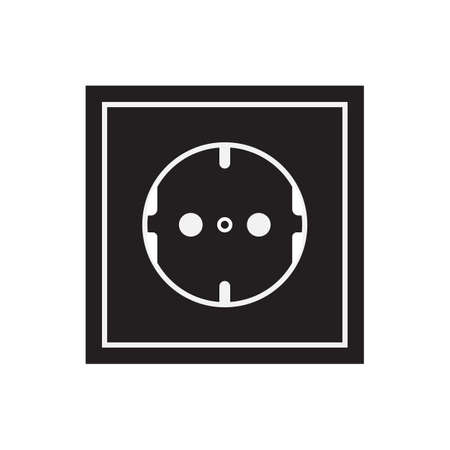 Socket icon vector illustration. Free royalty images. 向量圖像