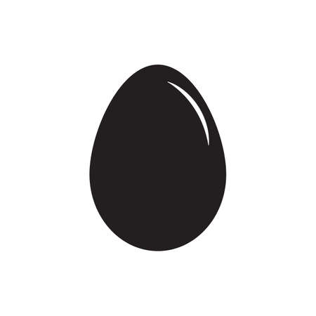 Egg icon on a white background. vector illustration design. Illustration