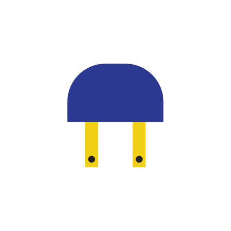 Relais Industrie flache Symbol Vektor-Design-Illustration.