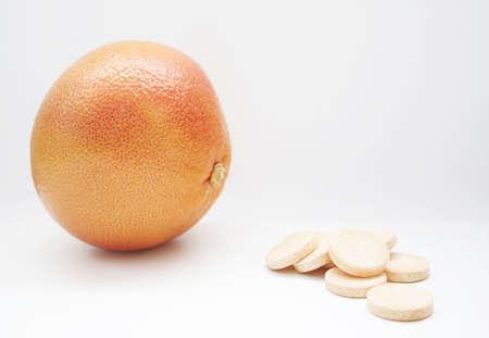 progeny: red grapefruit or pills?