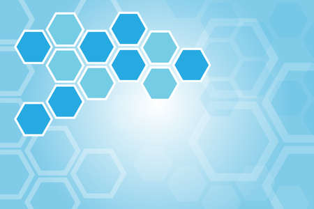 organic background: Medical background, Set of blank hexagon connect together, great for you design or app or icon.