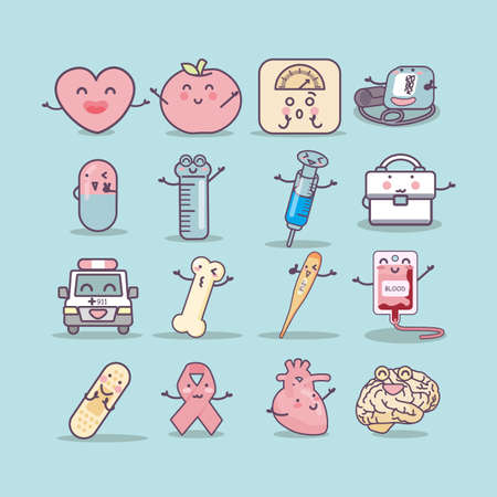 intravenous drip: Health Care icon set, great for your design