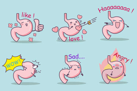 ha: cute cartoon stomach set,great for your design
