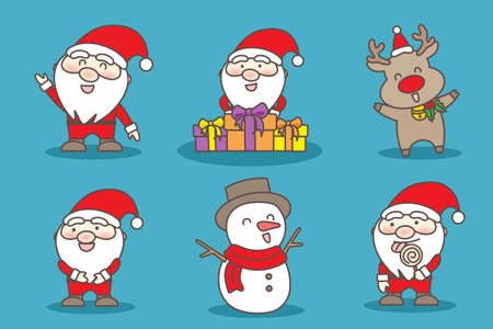 santa moose: Merry christmas day, great for your design great for your design