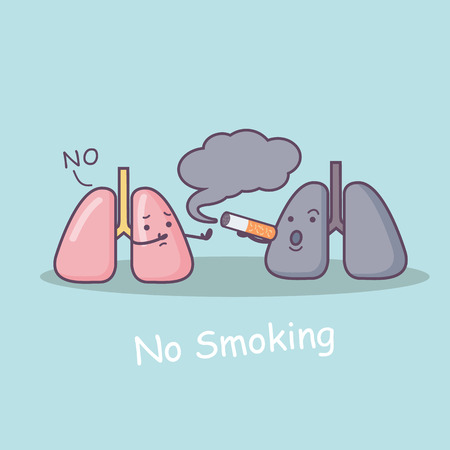 Reject Secondhand Smoke , great for health care concept