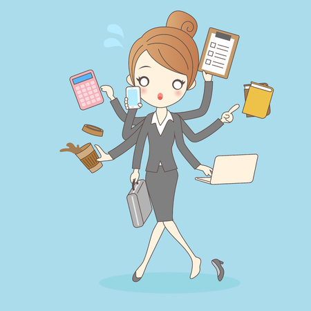 Women working in busy too company,great for your design
