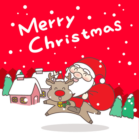 Merry christmas day, great for your designgreat for your design
