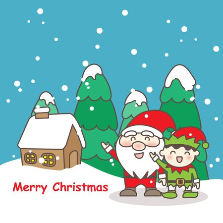 Merry christmas day, great for your design Illustration