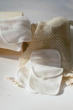 small towels for washing makeup. Microfiber towels for easy cleansing. no one