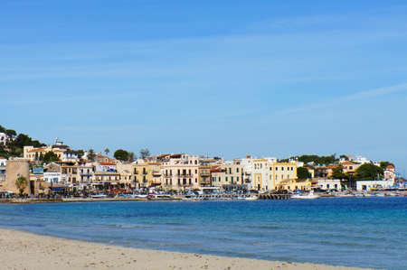mondello: View of the Mondello sea village on the Sicilys coast Editorial