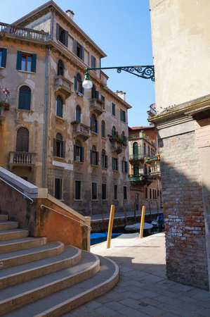 foreshortening: Foreshortening of Venice historical centre Stock Photo