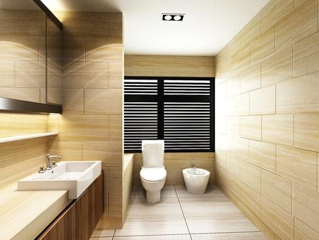 cuarto de ba�o: WC en cuarto de ba�o
