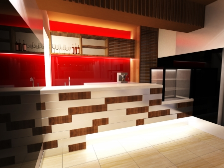 Bar Interior Design photo