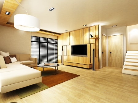 luxury room: Modern living room