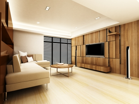 Modern living room  Stock Photo - 15750867