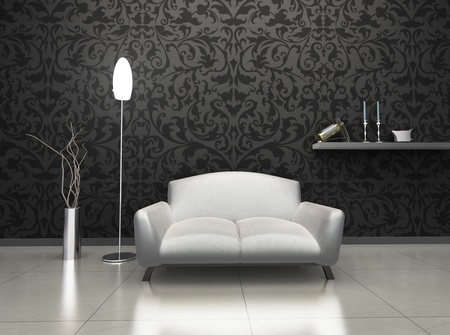 Luxury Interior Stock Photo