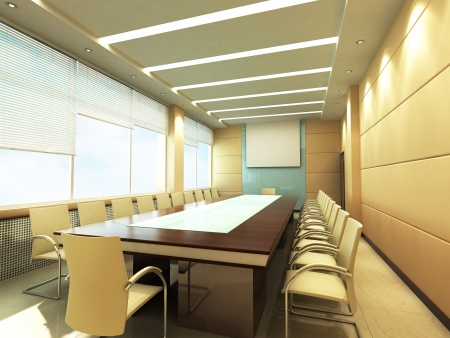conditioned: Office Conference room
