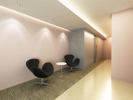 Office Corridor Area