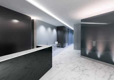 office space: Office Entrance Area