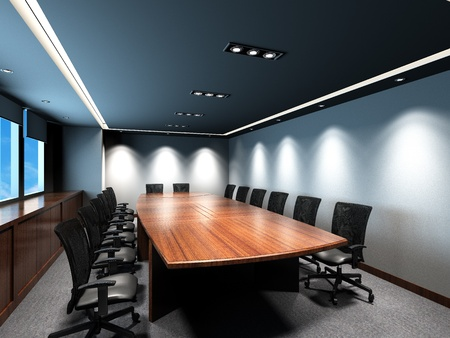 corporation: Office meeting room Stock Photo