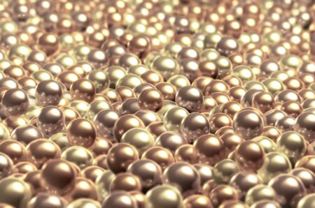 lustre: Pearls Stock Photo
