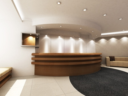 Reception Area Stock Photo - 15750821