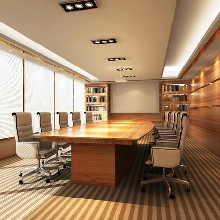 office meeting: 3D Office meeting room
