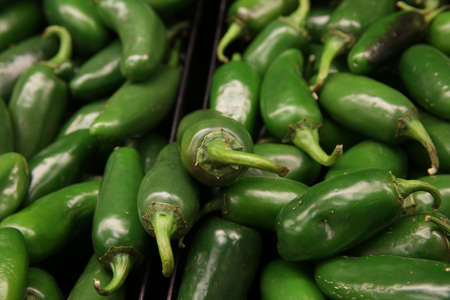 jalapeno: Jalapeno in the market Stock Photo