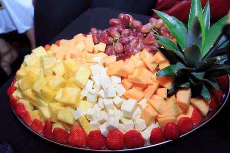 satisfies: Fruit in the bar Stock Photo