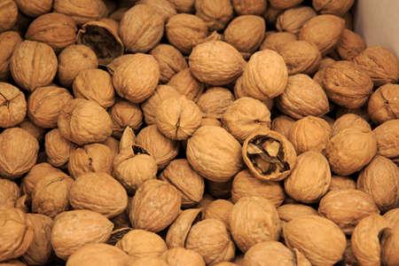 Walnuts in a group Reklamní fotografie