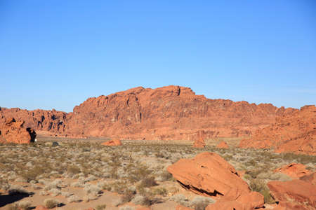 Red rocks on Valley of Fire photo